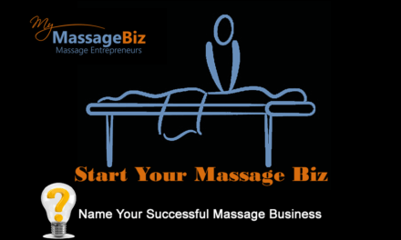 Name Your Successful Massage Business