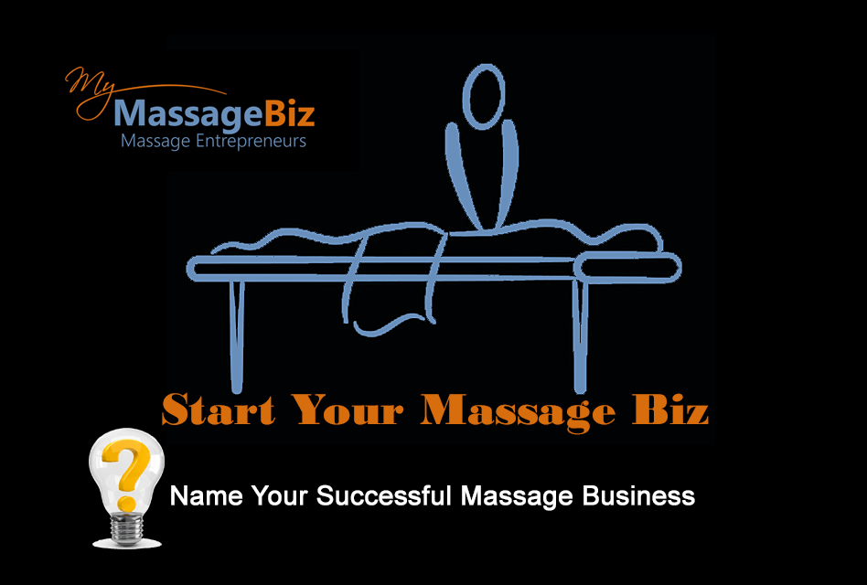Choose the name you will use for your massage business domain