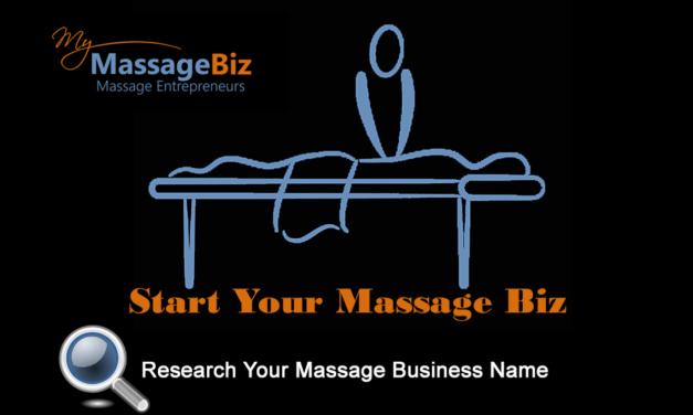Research Your Massage Business Name