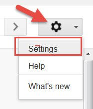Set Up Google Voice For Your Massage Business: Open your Settings.
