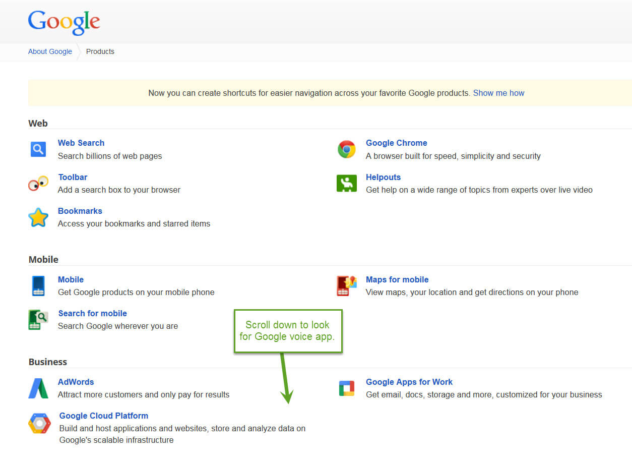 How to use google voice for business