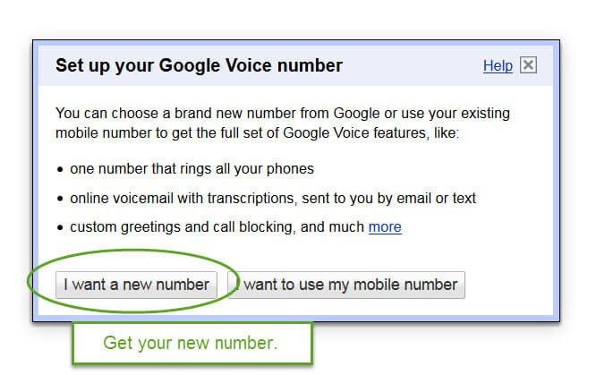 Set Up Google Voice For Your Massage Business setting up your nember
