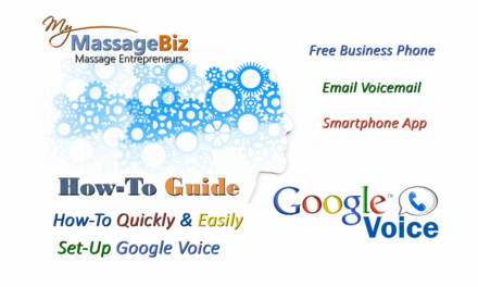 Set Up Google Voice For Your Massage Business