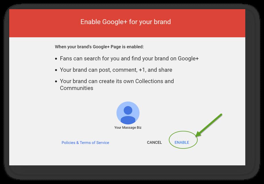 Massage Social Media Accounts Google Plus 5