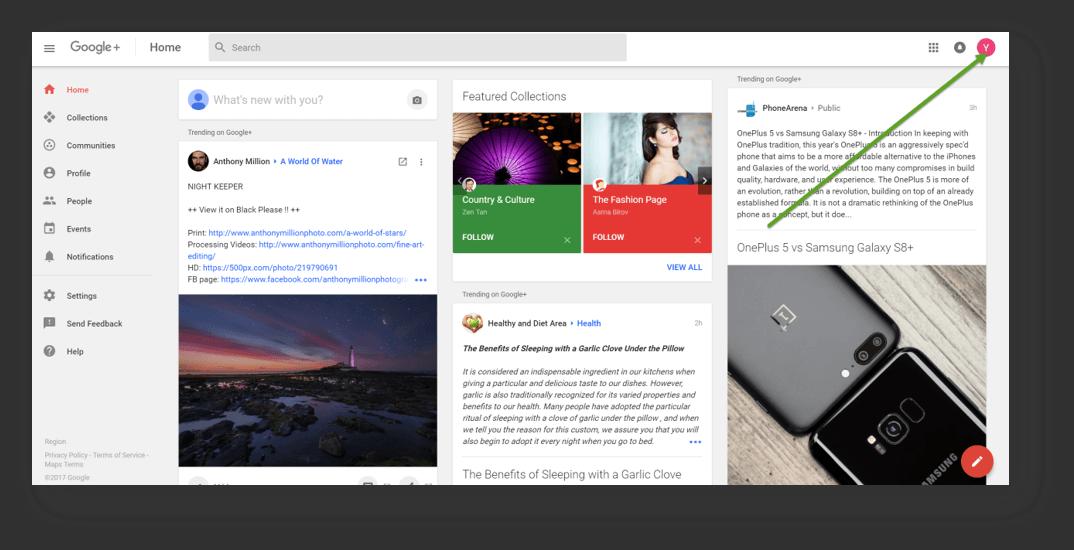 Massage Social Media Accounts Google Plus 6
