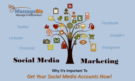 Set Up Your Massage Social Media Accounts