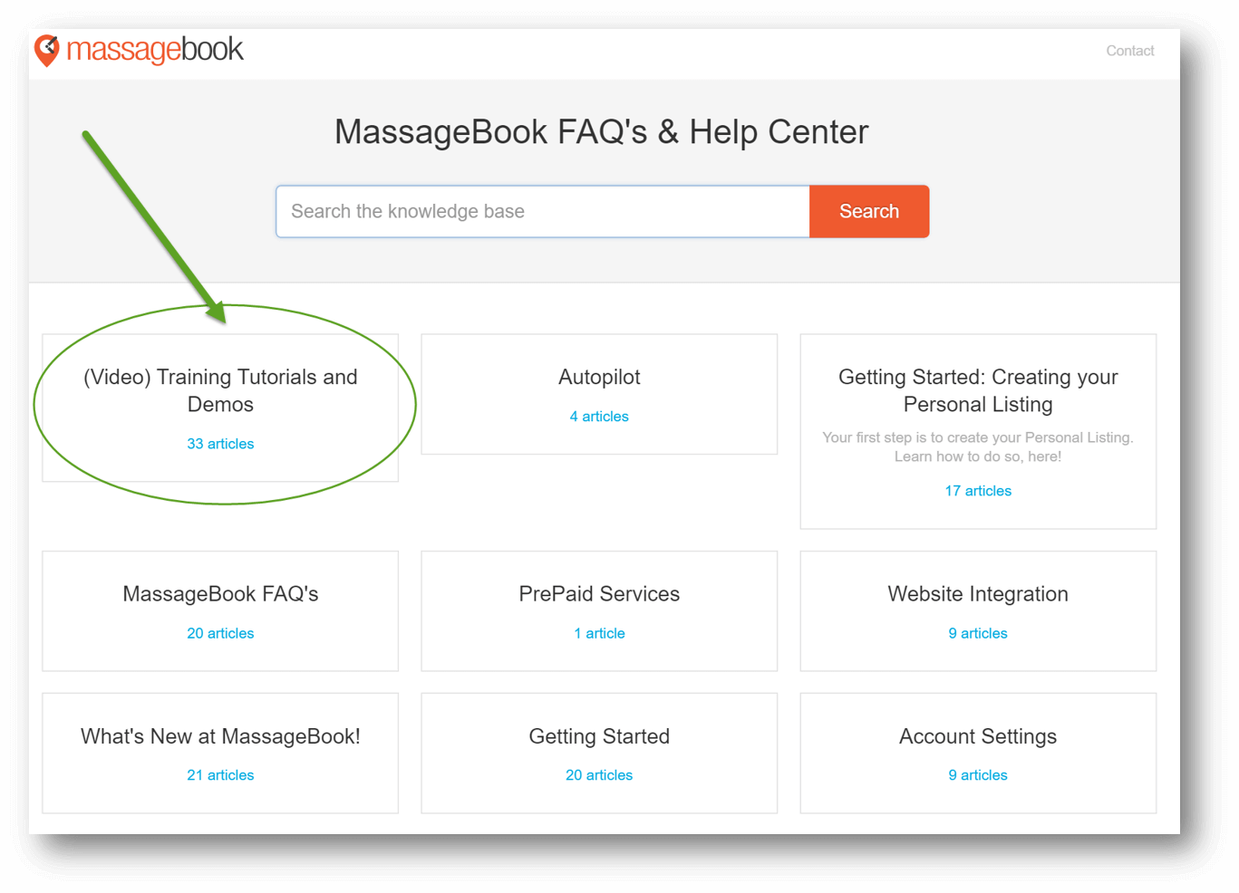 Best Massage Business Tools: MassageBook has great support.