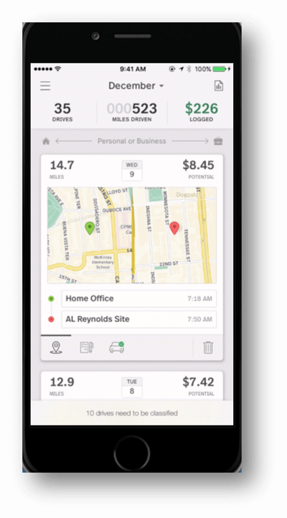 Best Massage Business Tools: MileIQ lets you catch every mile automatically.