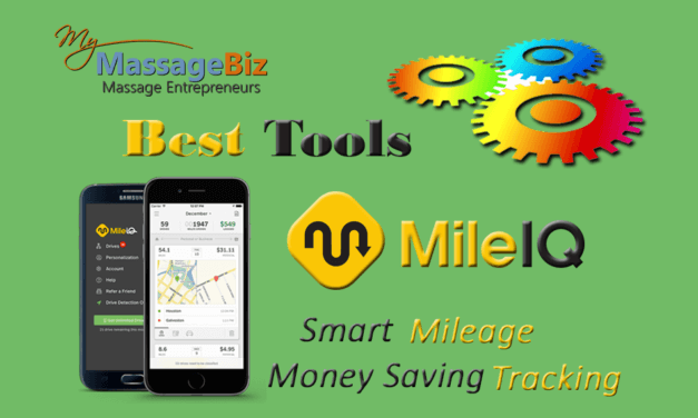 Best Massage Business Tools: MileIQ