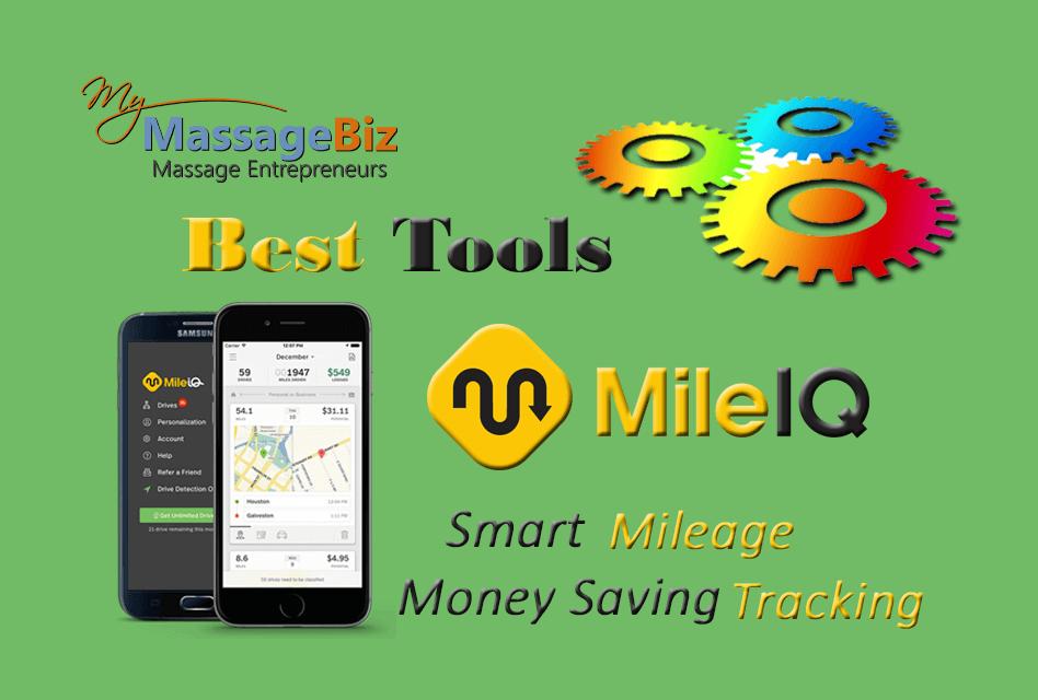 Best Massage Business Tools: MileIQ