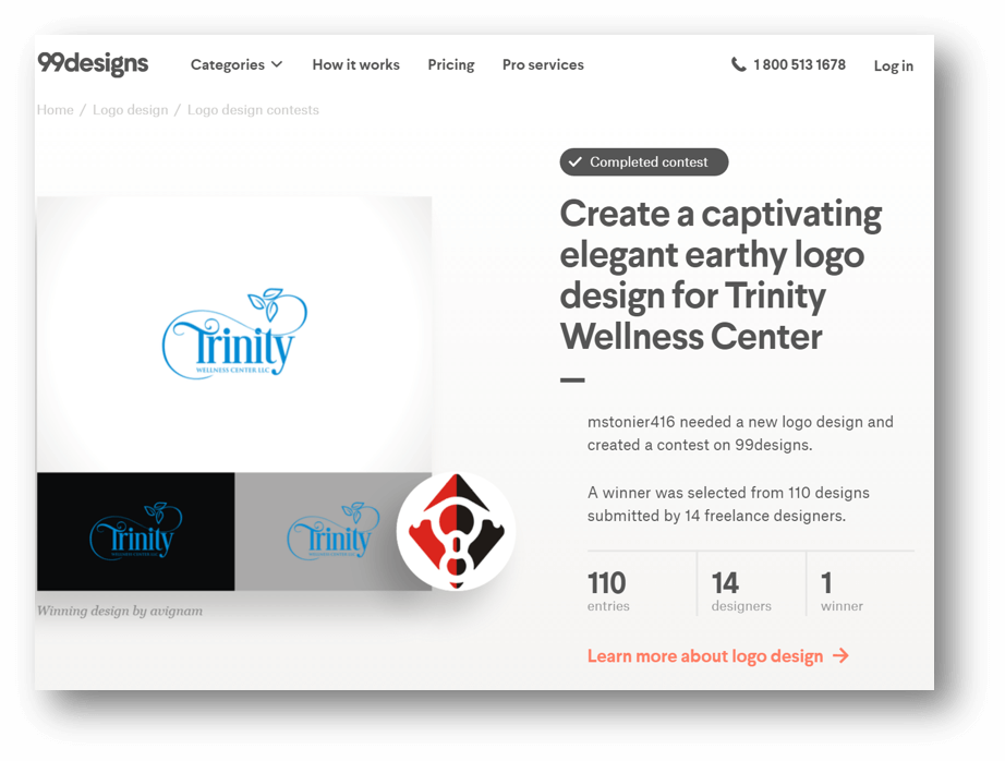 Best Massage Business Tools: 99 Designs gives you more choices