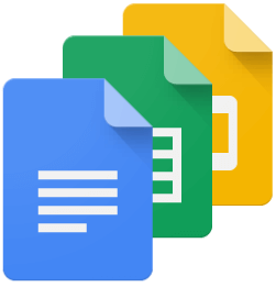 Best Massage Business Tools: G Suite lets you use Google docs, sheets, forms and slides.