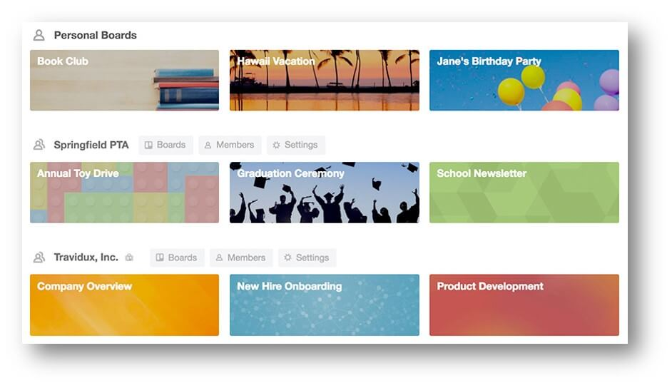 Best Massage Business Tools: Trello boards keep you organized.