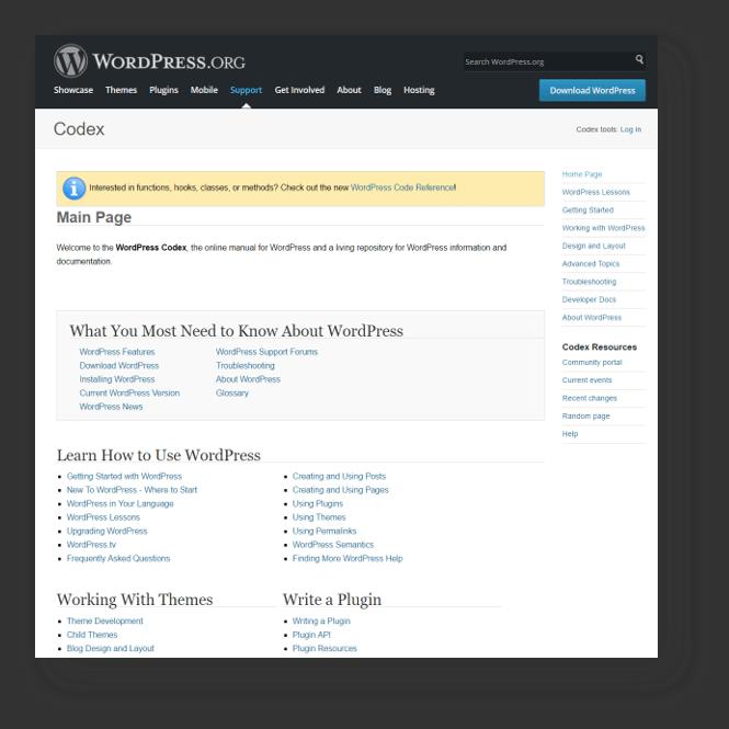 Best Massage Business Tools: WordPress has great support.