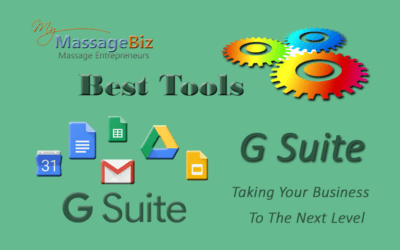 Best Massage Business Tools: G Suite