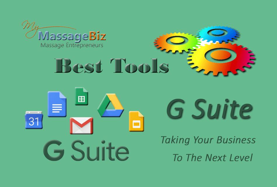 Best Massage Business Tools: G Suite