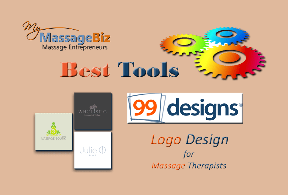 My massage Biz best-tools-99-designs for your massage business logo