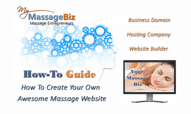 Massage Website Creation: Tips and Tools