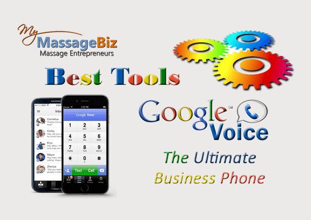 Best massage business tools google voice m4hsunfo