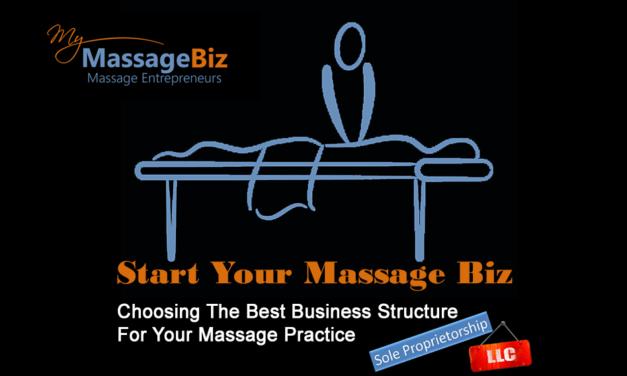 Choosing The Best Massage Business Structure